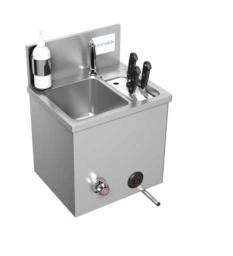 Inox umivaonici s ugrađenim sterilizatorima